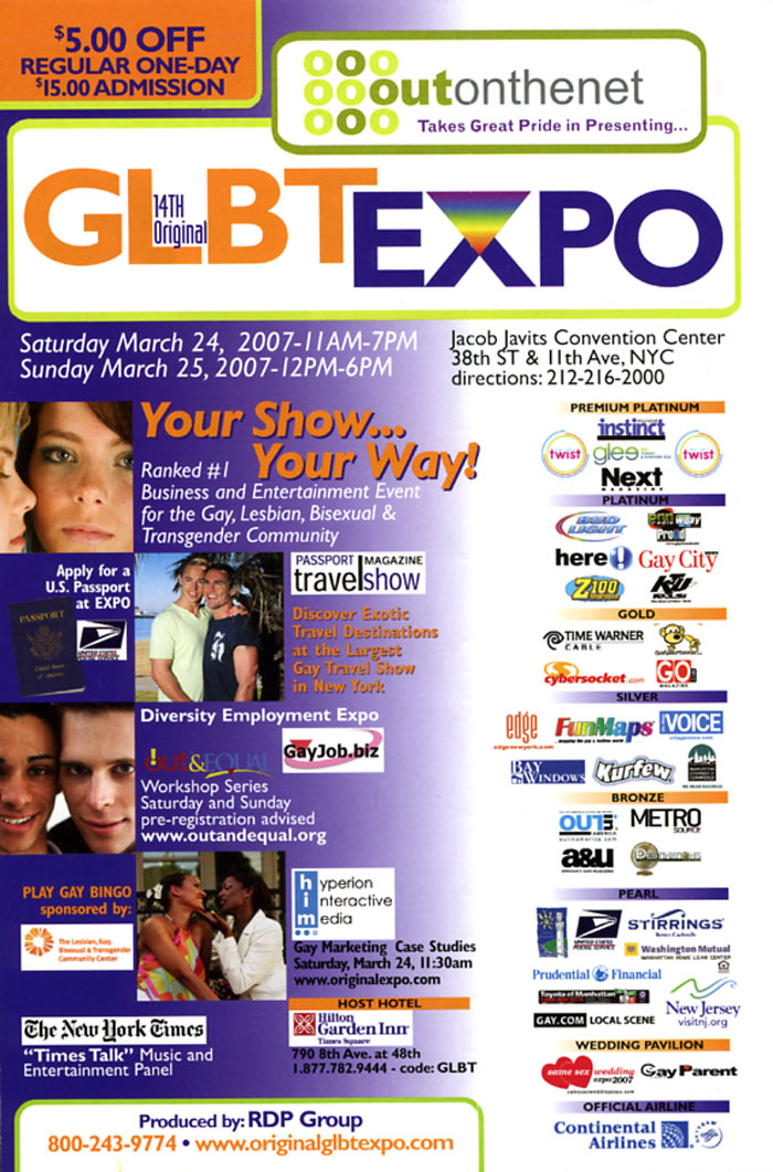 14h Annual Gay Biz Expo