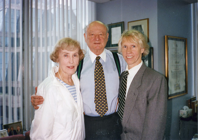 Ed Koch and Helen H and WLH