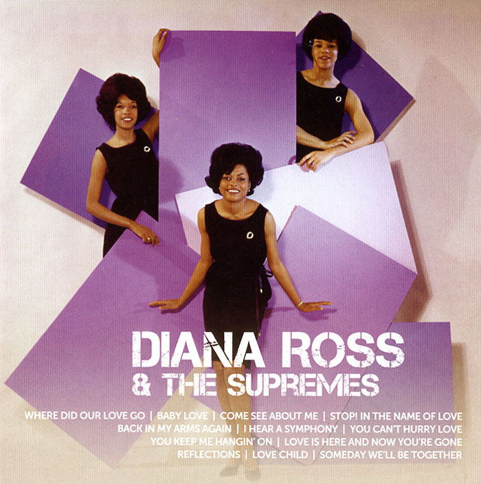 Diana Ross Supremes Icon
