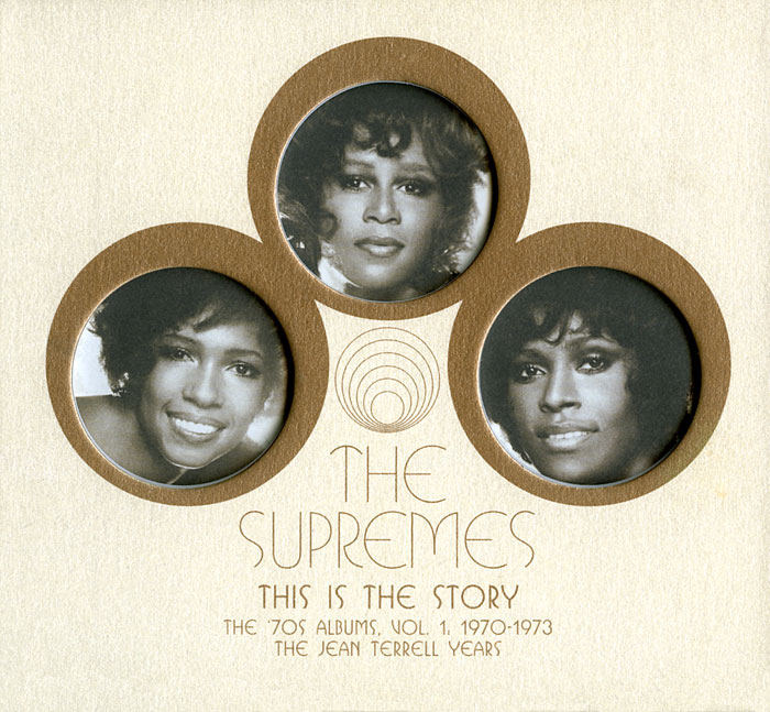 Supremes 1970s This Is The Story Jean Terre