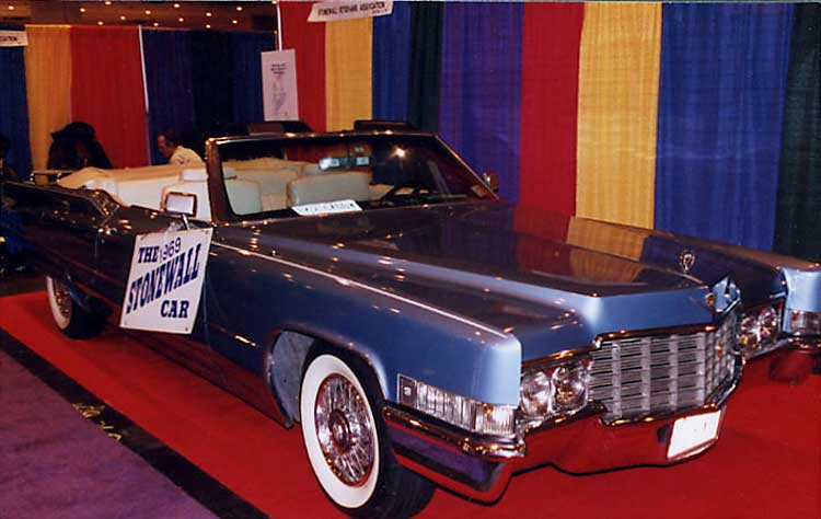 1969 Cadillac Stonewall Car on display at the New York City Convention Center